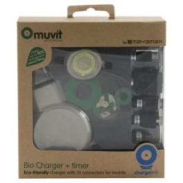 Chargeur écologique universel avec minuteur 10 connecteurs