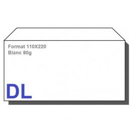 Type DL - Format 110X220 Blanc