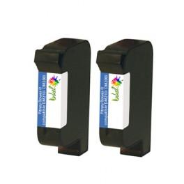 Cartouche Pitney Bowes ® compatible DM210i / DM390i (Lot de 2 cartouches)