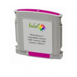 Cartouche Pitney Bowes ® encre magenta compatible Connect+ 1000 / Connect+ 2000 / Connect+ 3000