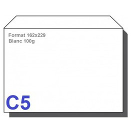Type C5 - Format 162X229 Blanc